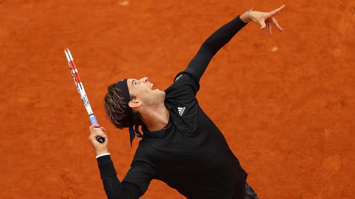 Dominic Thiem à Roland-Garros en 2020