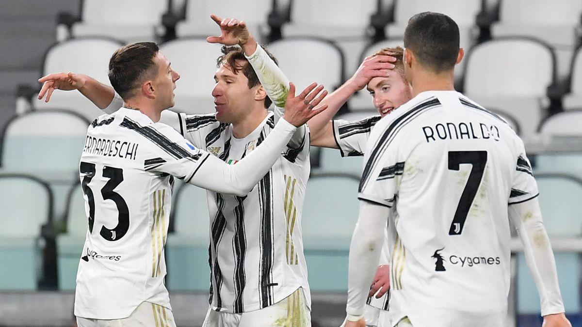 Federico Chiesa, Federico Bernardeschi, Juventus-Spezia, Getty Images