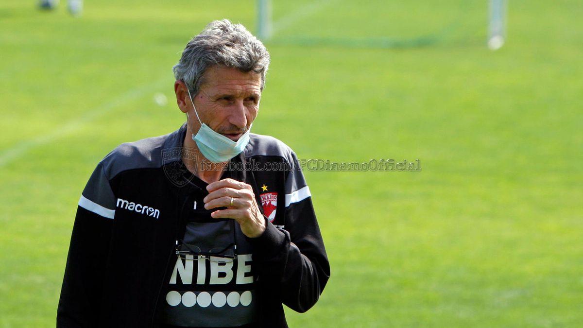 Gigi Mulțescu (68 ani), antrenor Dinamo