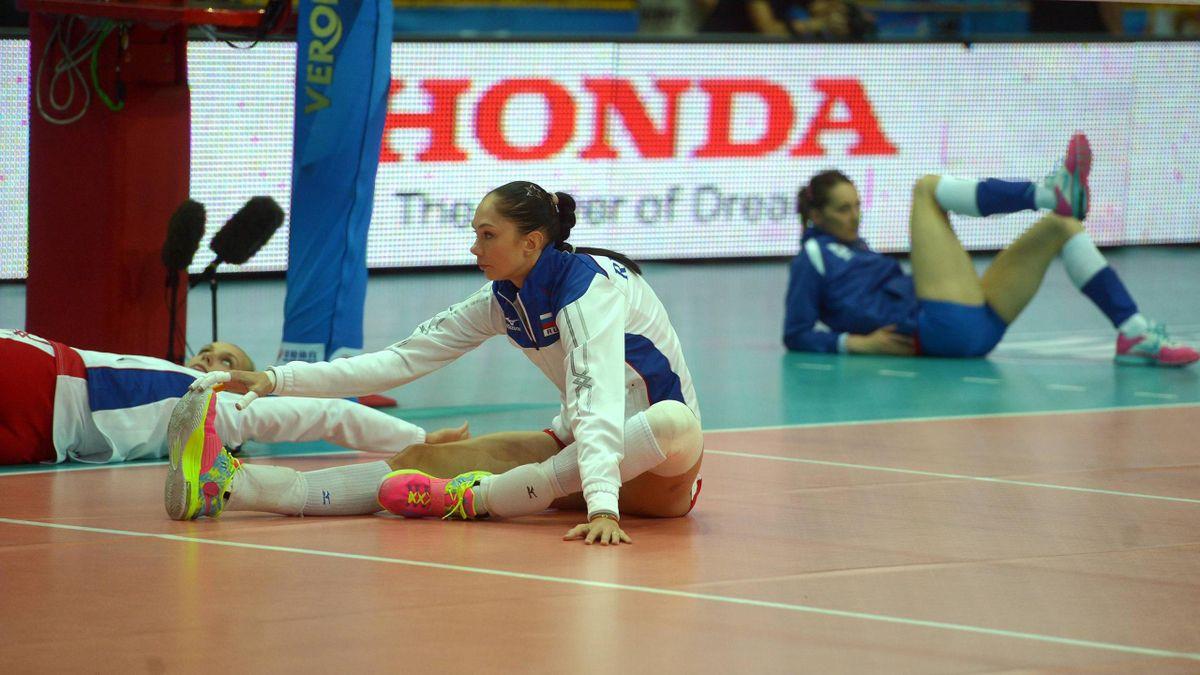 Екатерина Гамова на чемпионате мира-2014