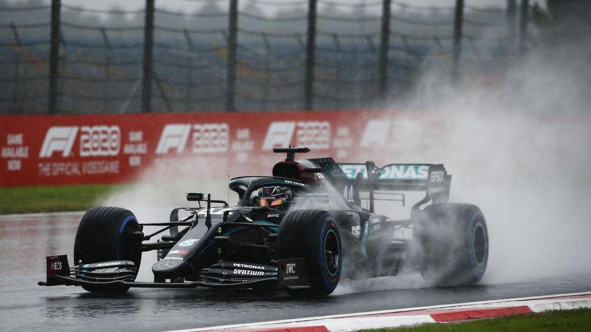 Lewis Hamilton fuhr im Mercedes im Qualifying zum Großen Preis der Türkei nur auf Platz sechs