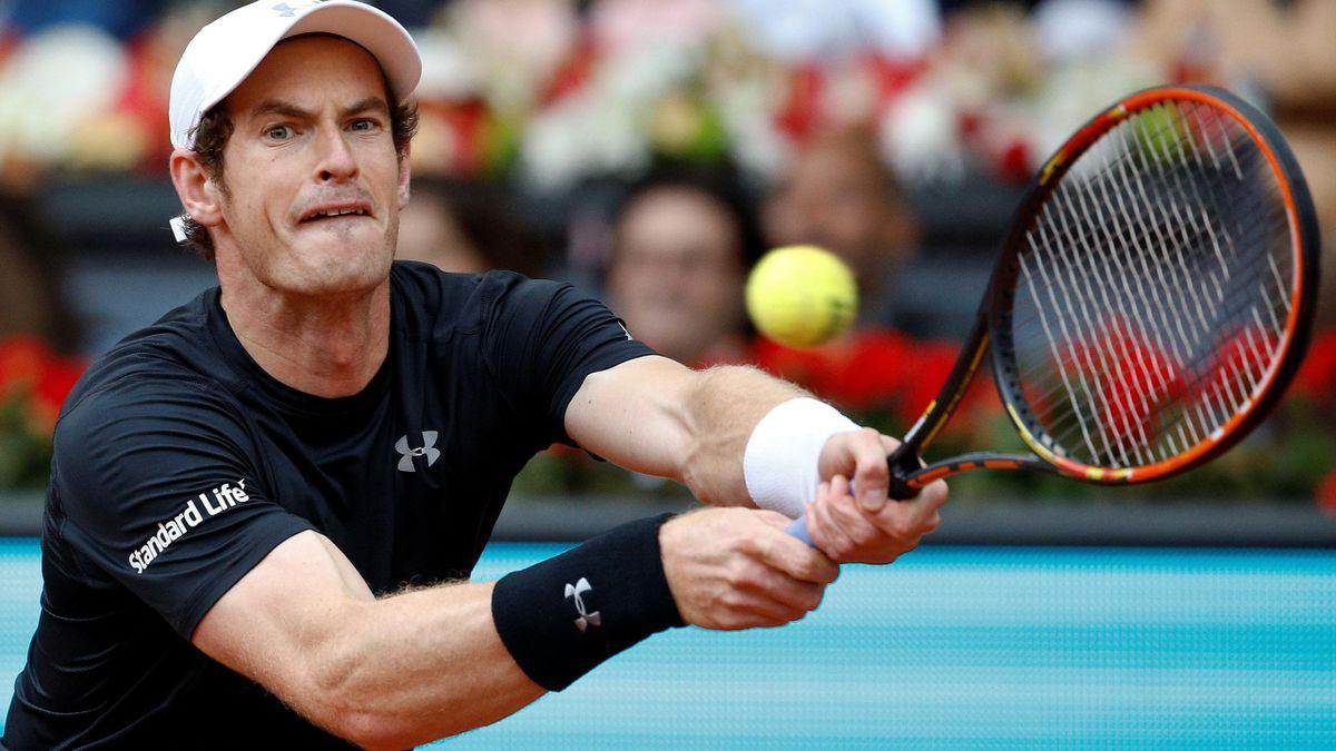 Novak Djokovic of Serbia v Andy Murray of Britain - Madrid Masters final 2016