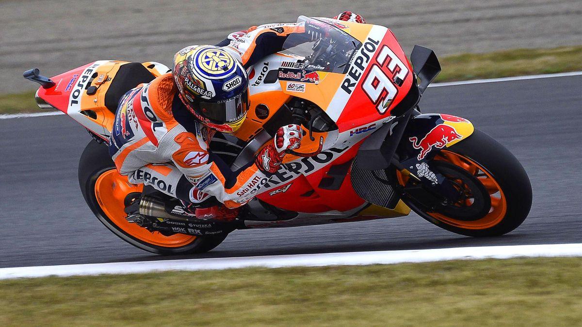 Marc Marquez (Honda HRC) au Grand Prix du Japon 2019
