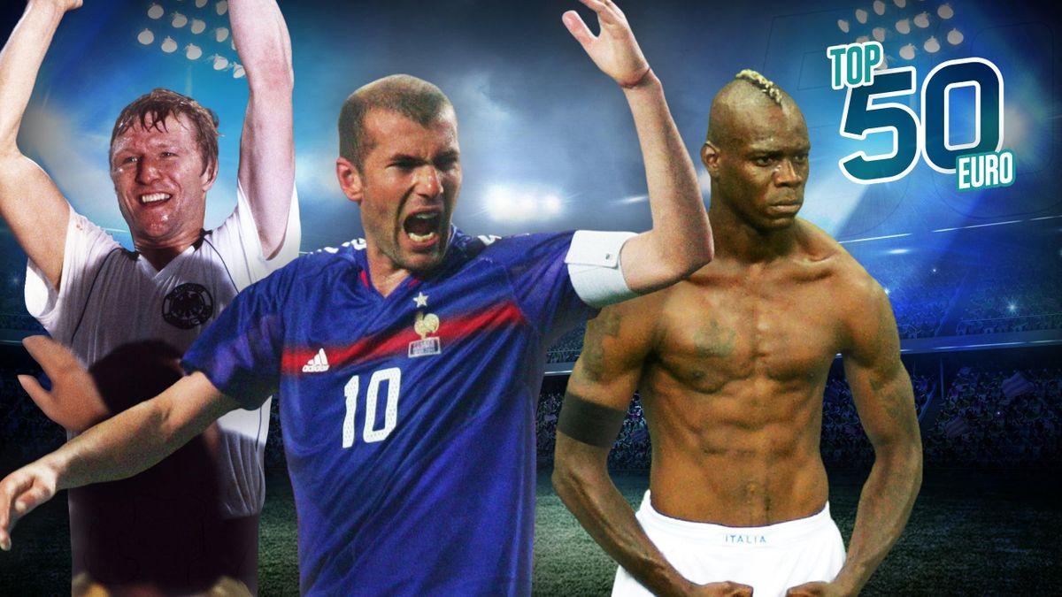 Zidane Balotelli et Hrubesch