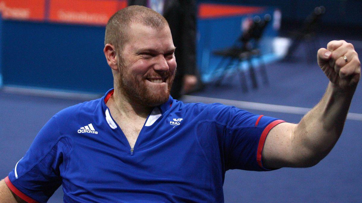 Fabien Lamirault aux Jeux Paralympiques de 2012