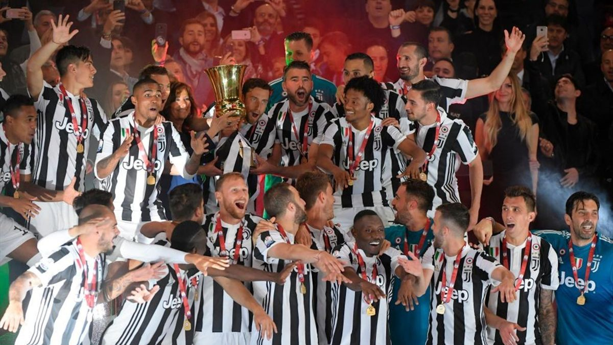 Juventus-Milan - Coppa Italia 2017/2018 - Getty Images