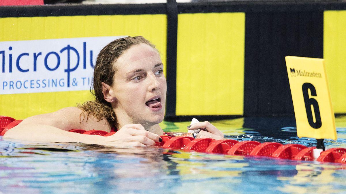 Katinka Hosszu aux championnats d'Europe en petit bassin de Copenhague en 2017
