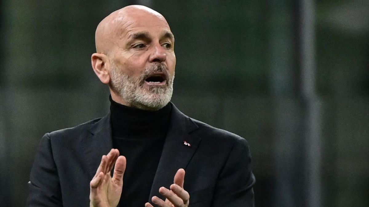 Stefano Pioli durante Milan-Napoli - Serie A 2020/2021 - Getty Images