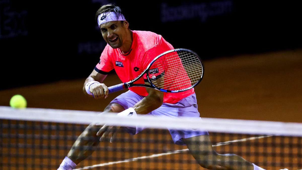 David Ferrer au tournoi de Rio en 2017