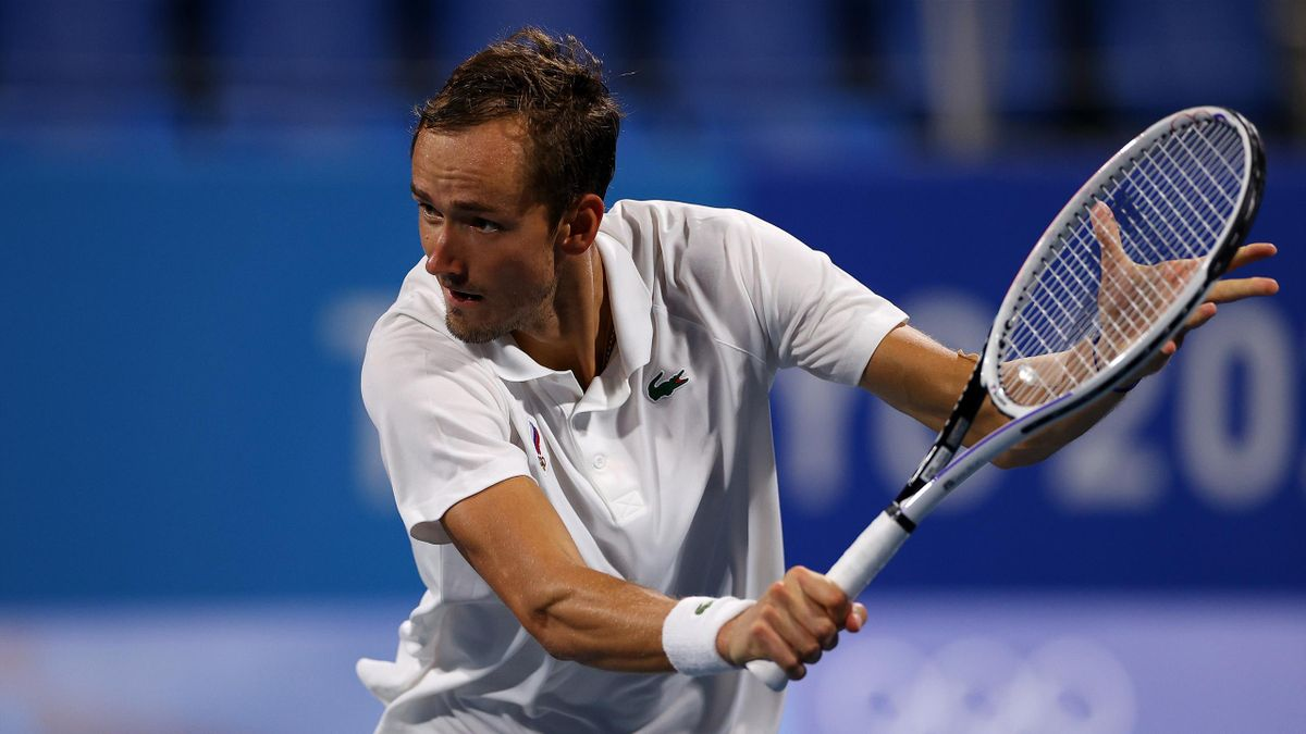 Daniil Medvedev ist beim olympischen Tennisturnier ausgeschieden