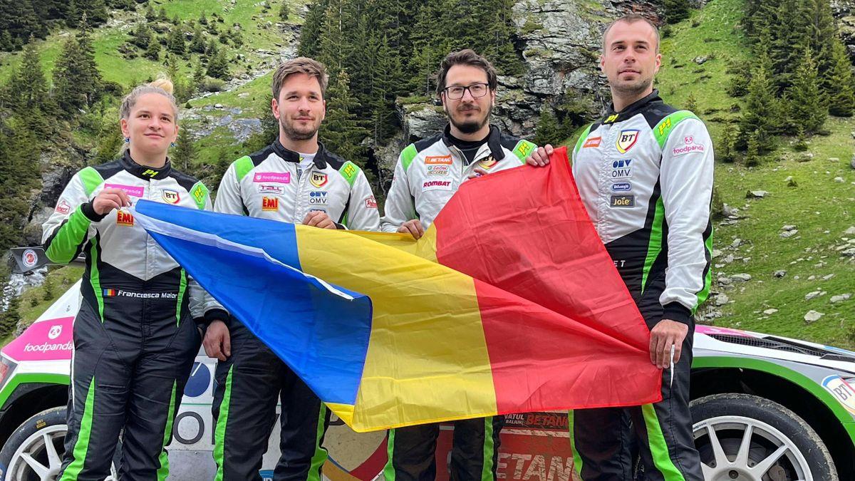 Echipa României la Europeanul de Raliuri