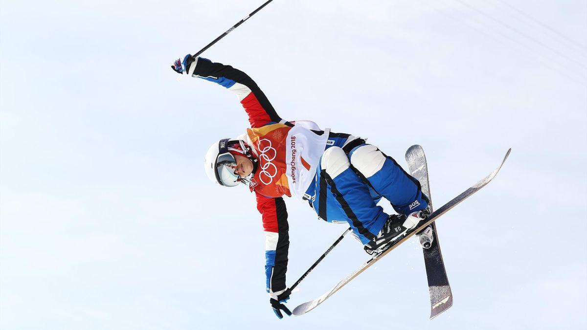 Marie Martinod n'a pas tremblé lors des qualifications du ski halfpipe aux Jeux Olympiques de Pyeongchang