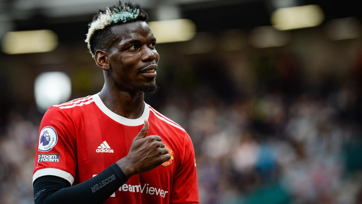 Paul Pogba lors de Manchester United-Newcastle.