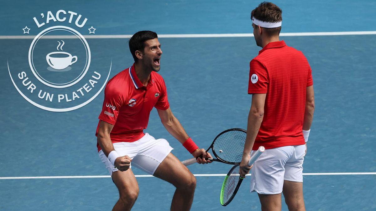 Novak Djokovic à l'ATP Cup