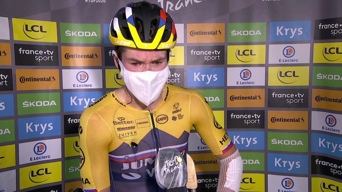 Tour de France  : Interview Roglic