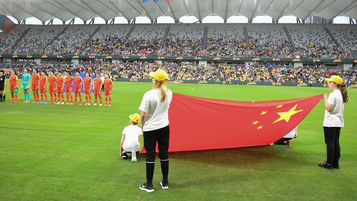 Матч квалификационного олимпийского турнира-2020 Китай – Австралия