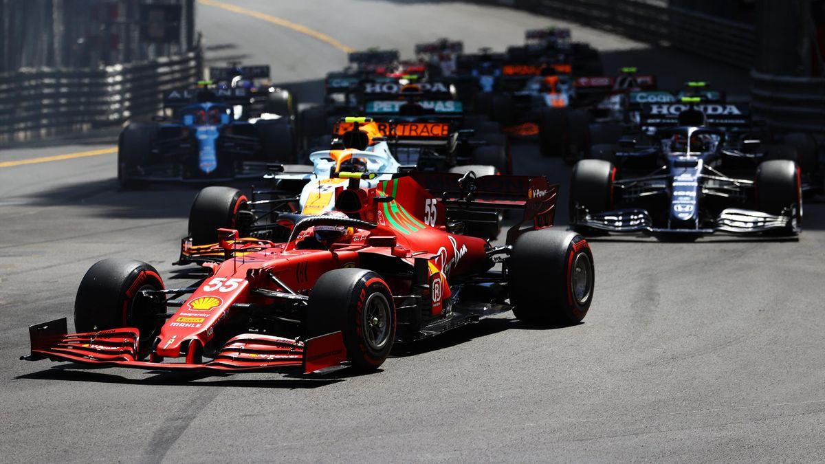 Carlos Sainz, GP Monaco, Formula 1, Getty Images