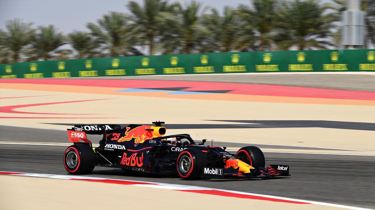 Max Verstappen (Red Bull) in Bahrain