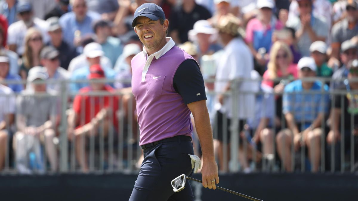 Rory McIlroy is in contention to claim the US Open title.