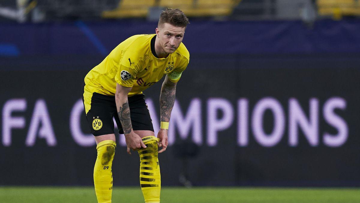 Ob Marco Reus am Wochenende gegen den 1. FC Köln auflaufen kann, ist noch ungewiss