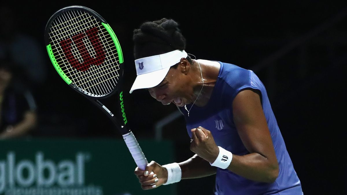 WTA Finals 2017, Singapore: Venus Williams b Garbiñe Muguruza