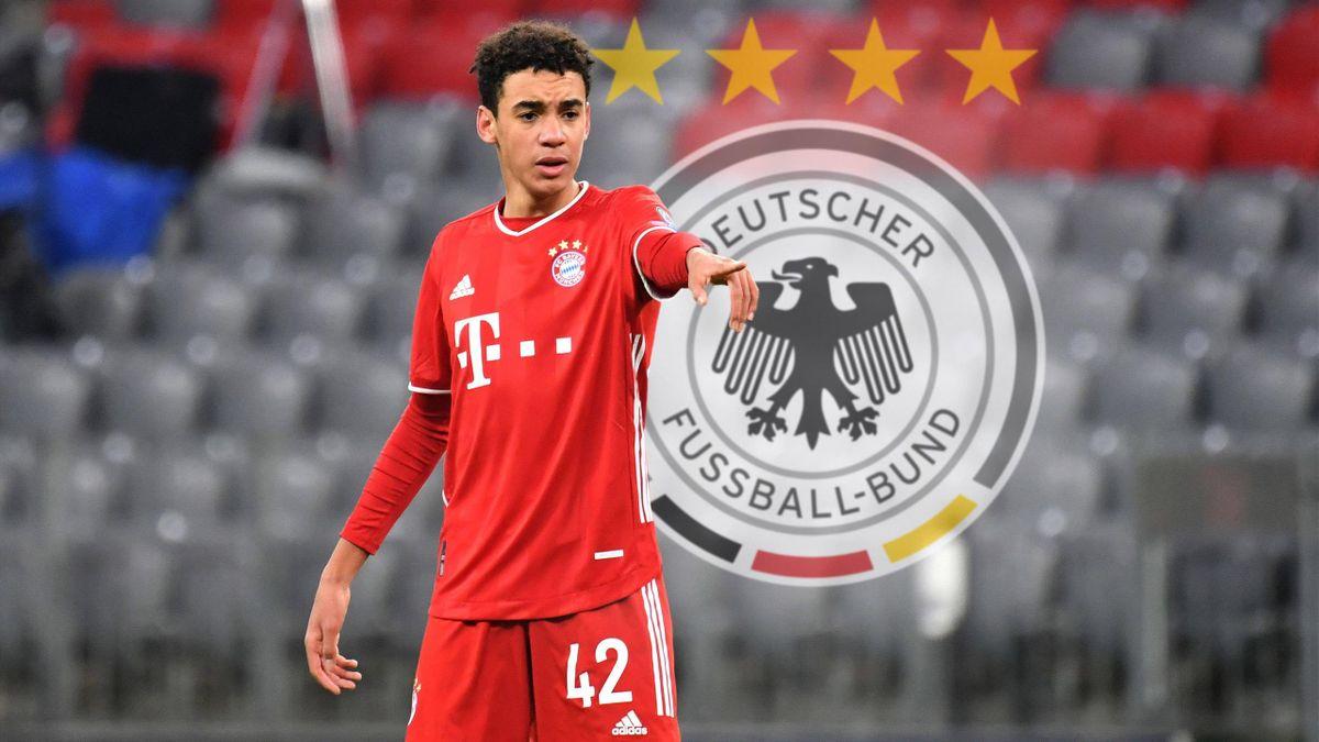 Bayerns Jamal Musiala könnte gegen Island sein Debüt für Deutschland geben