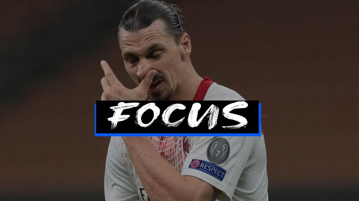 Zlatan Ibrahimovic, Milan-Stella Rossa, Getty Images