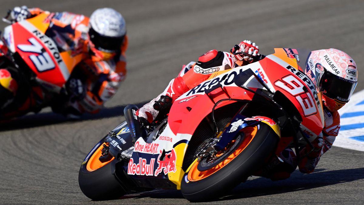 Marc Marquez and Alex Marquez - Jerez Circuit - 2020