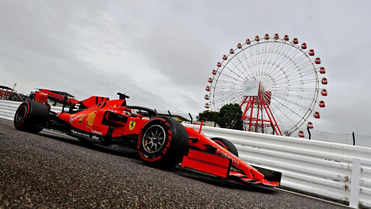 Sebastian Vettel (Ferrari) au Grand Prix du Japon 2019