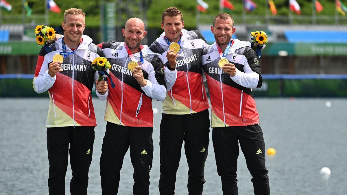 Max Rendschmidt, Ronald Rauhe, Tom Liebscher, Max Lemke, Olympics, Tokyo