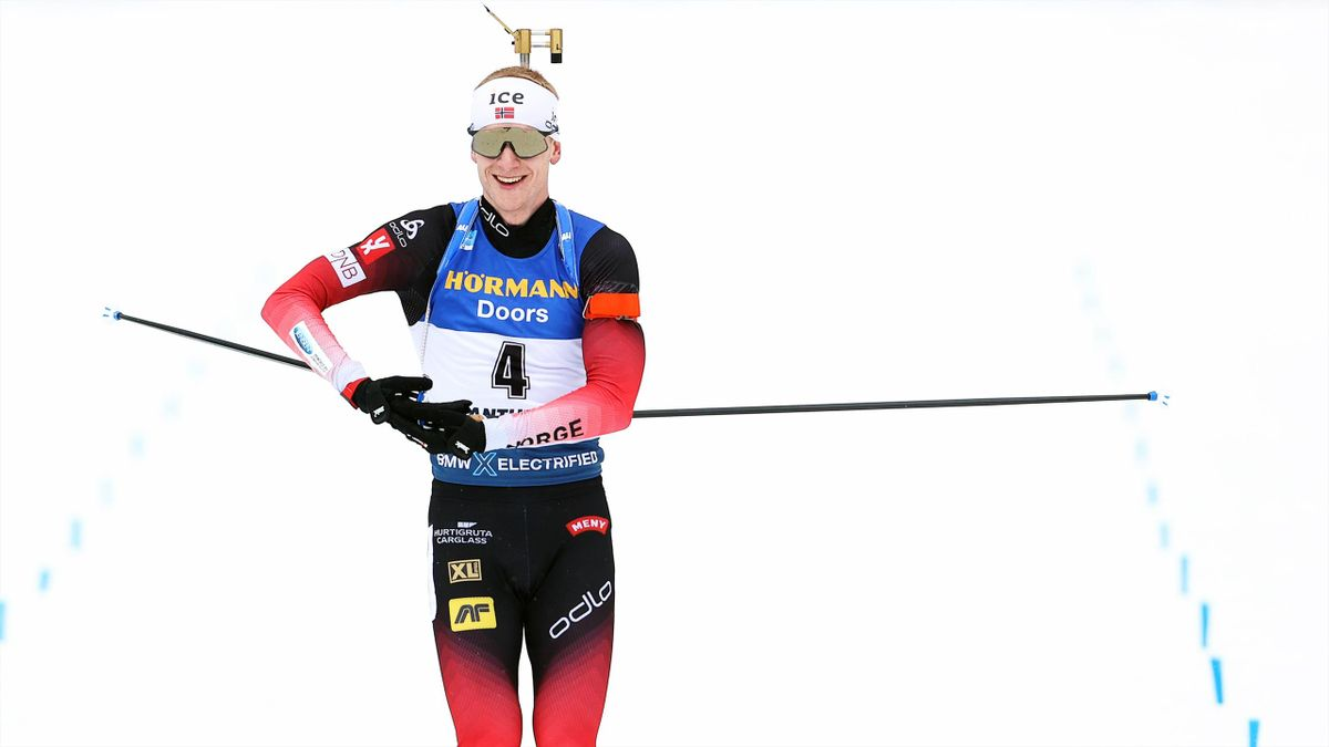Johannes Thingnes Bö in Antholz 2020
