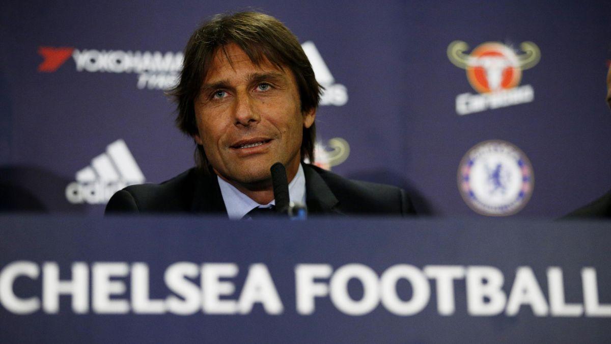 Antonio Conte hat sich beim FC Chelsea vorgestellt