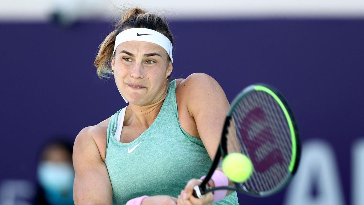 Aryna Sabalenka gewinnt das WTA-Turnier in Abu Dhabi