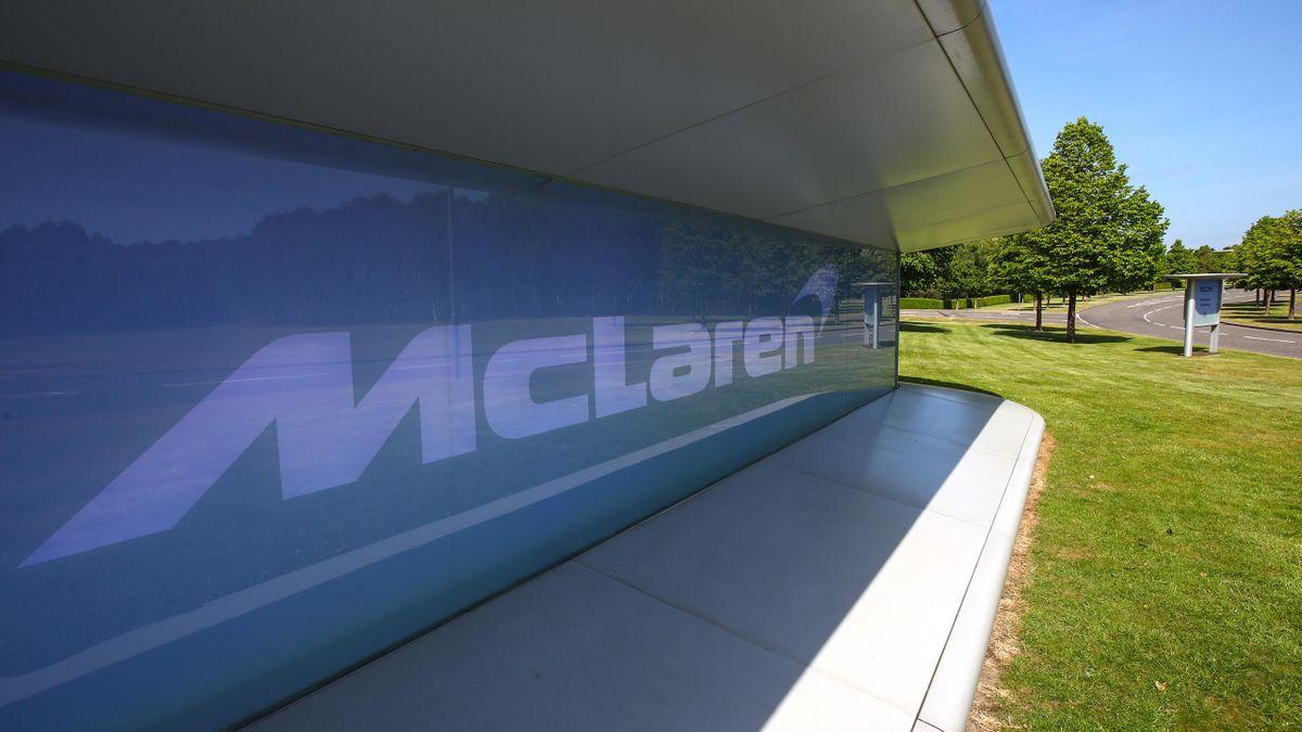 Les locaux de McLaren F1, à Woking