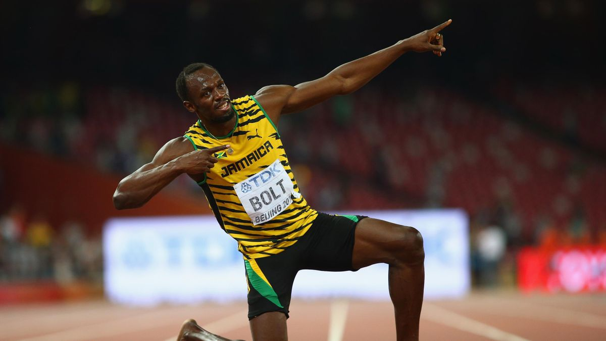 Usain Bolt is the world record holder in the 100m and 200m