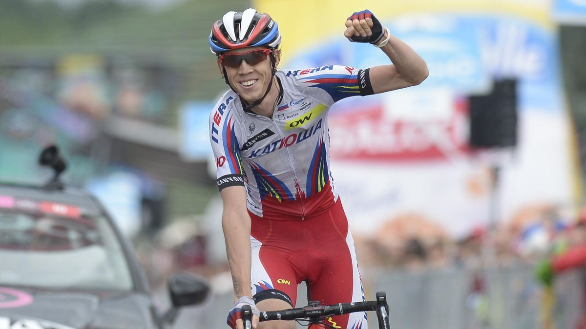 Giro d'Italia 2015, Tappa 11, Ilnur Zakarin (LaPresse)