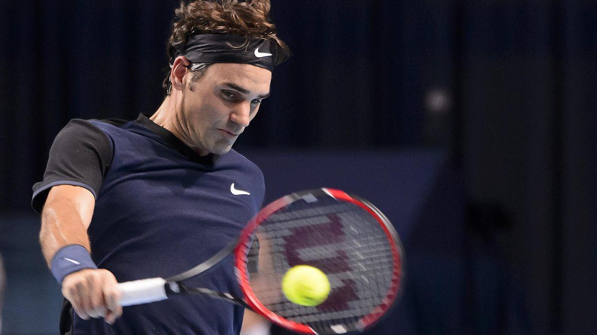 Roger Federer contre John Isner à Bercy