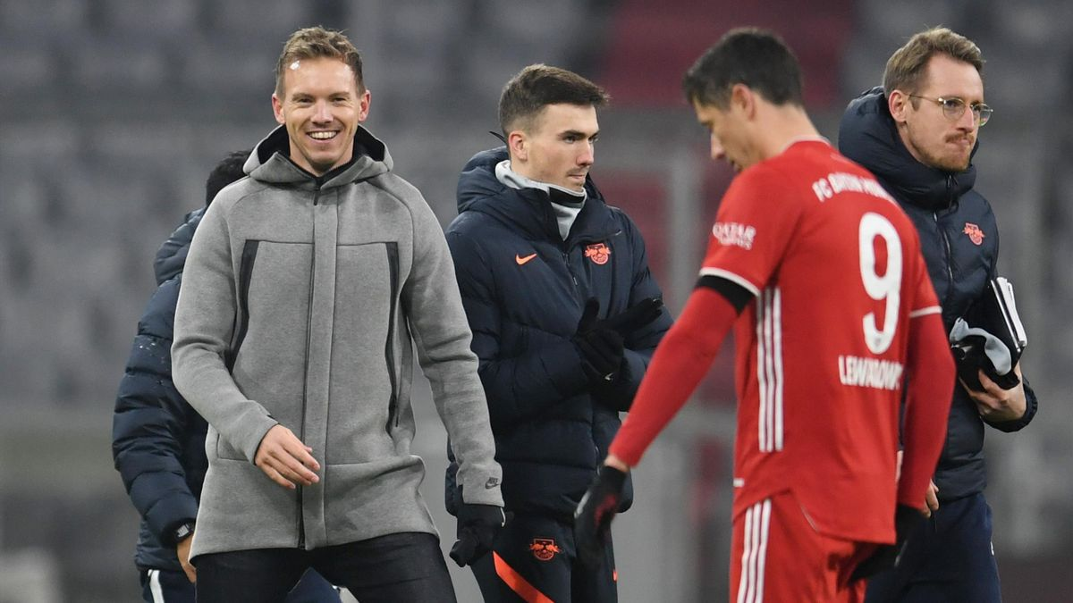 Бавария» правильно пригласила Юлиана Нагельсманна. Убила конкурента и взяла лучшего тренера - Eurosport