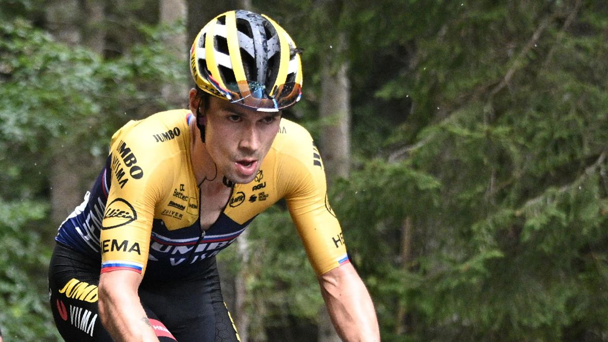 """Ciclismo, Tour, Roglic in dubbio: """"Pensavo di recuperare meglio"""" - Eurosport"""