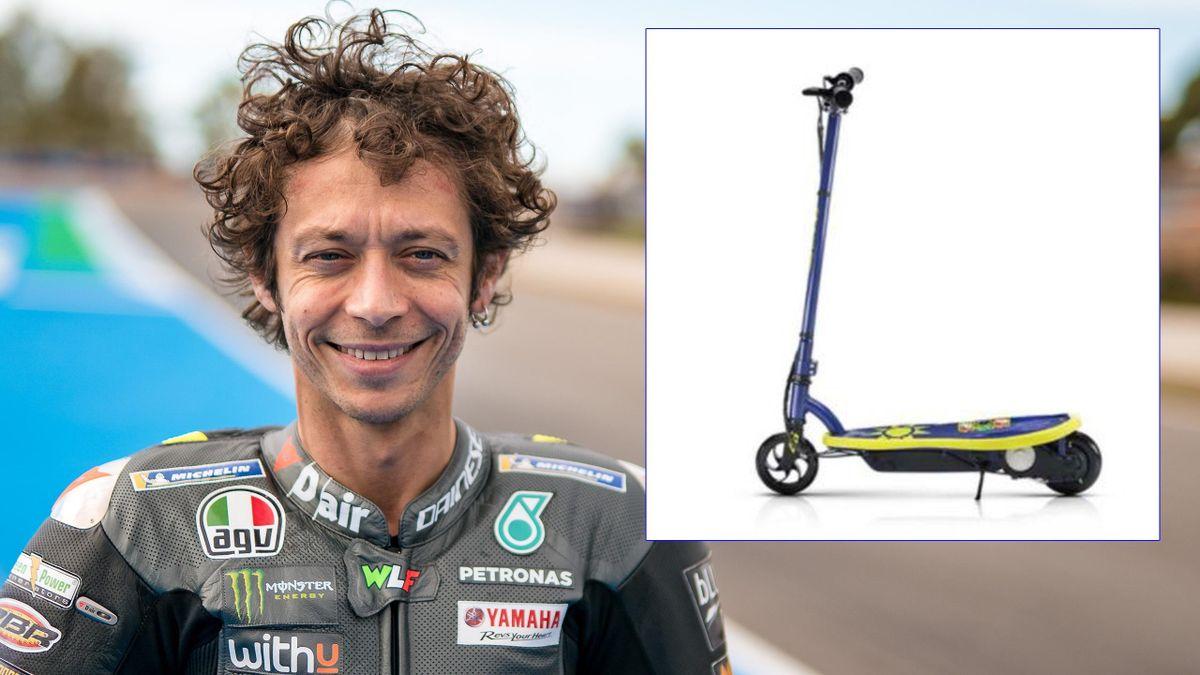 Valentino Rossi lancia la sua linea di monopattini elettrici