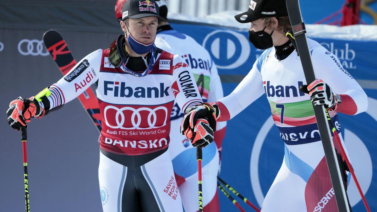 Alexis Pinturault et Marco Odermatt vont se jouer le gros globe lors des trois dernières courses de la saison