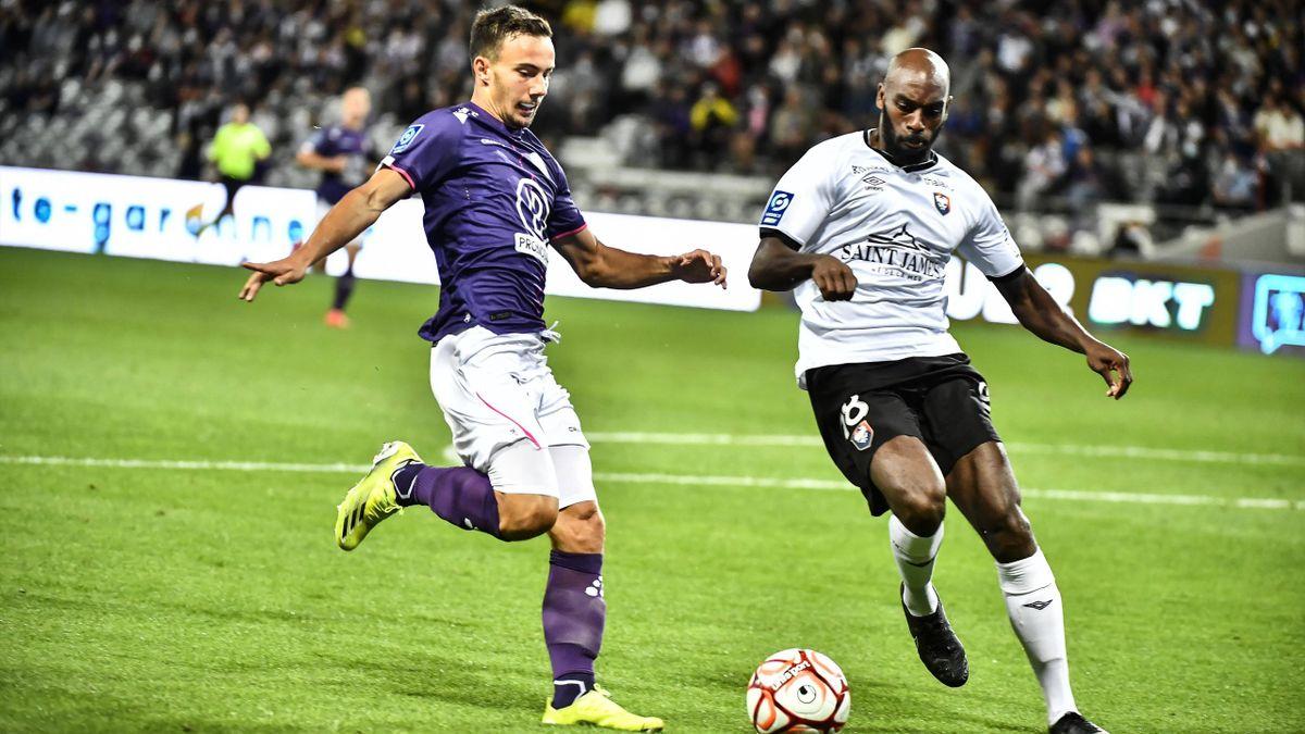 Toulouse battu chez lui par Caen (2-3).