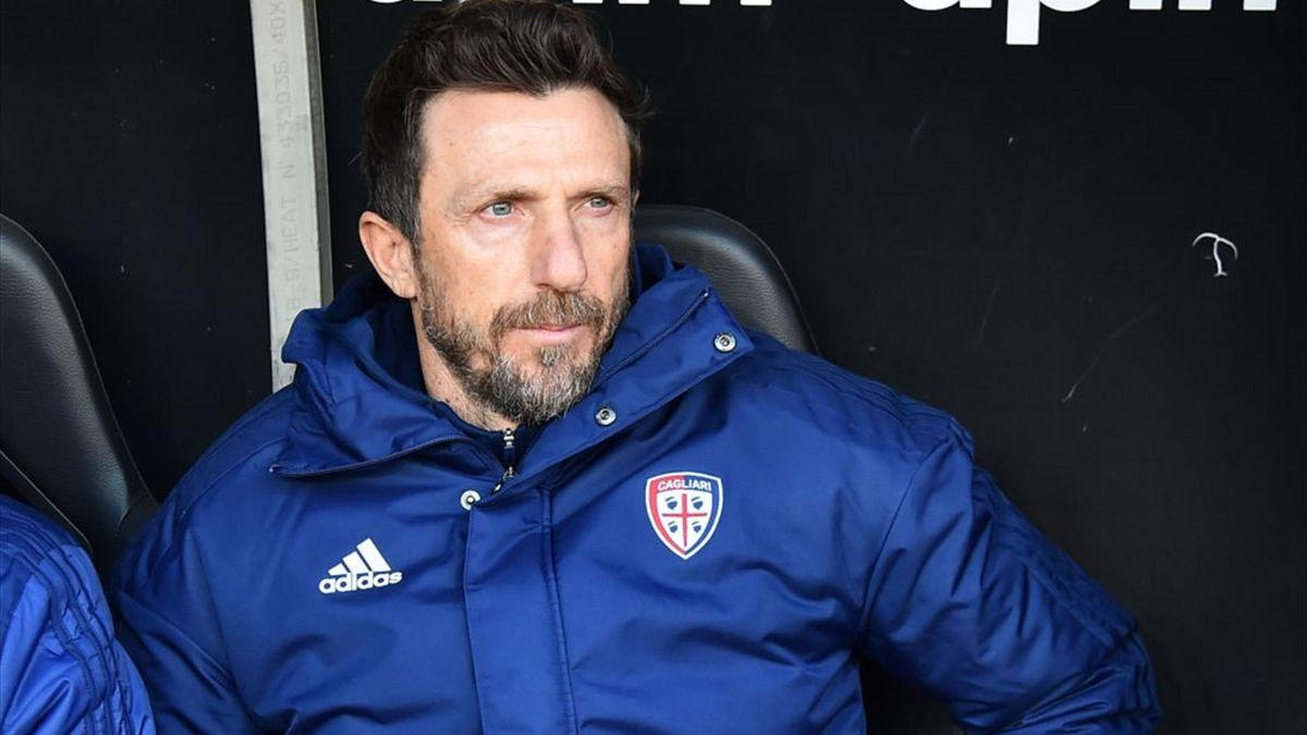 Eusebio Di Francesco - Genoa-Cagliari - Serie A 2020/2021 - Getty Images