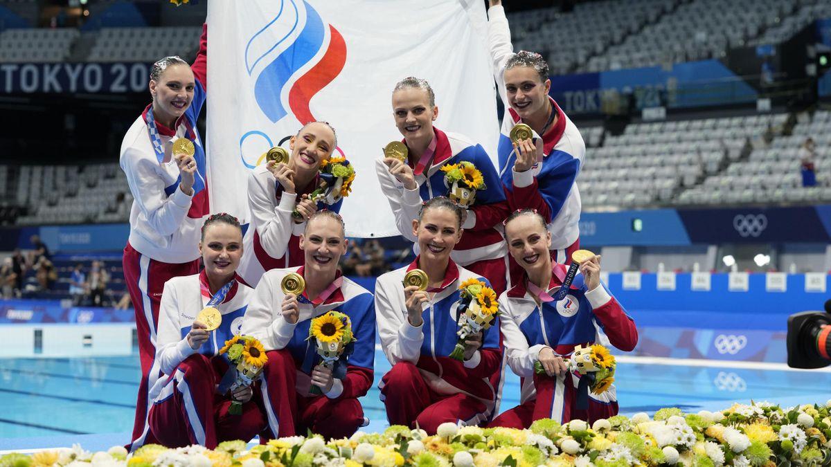 Russische Synchronschwimmerinnen dominieren in Tokio