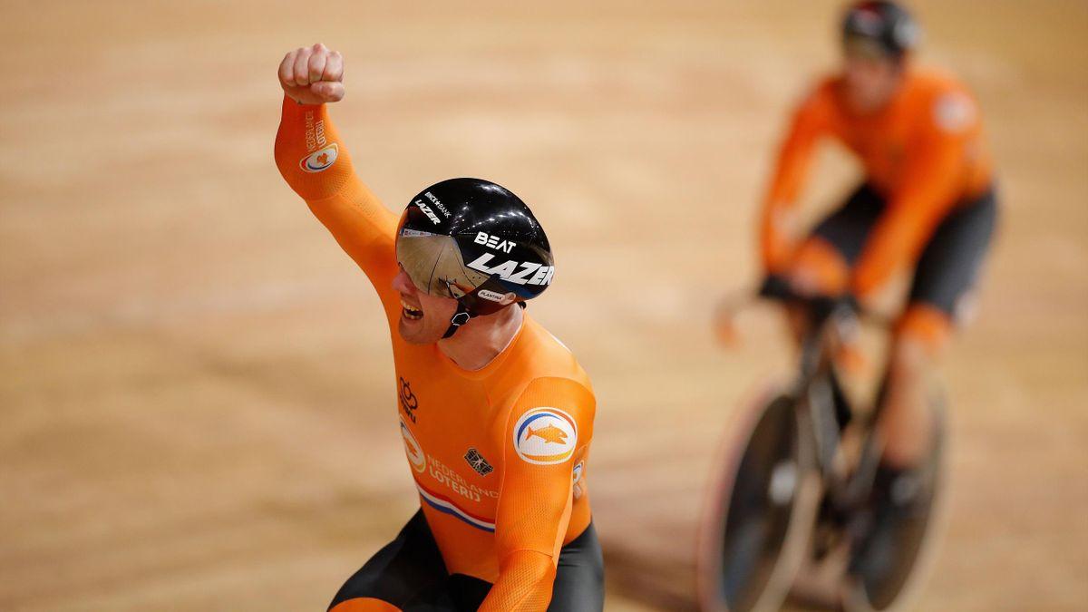 World Championships Berlin: Men's team sprint final + WR