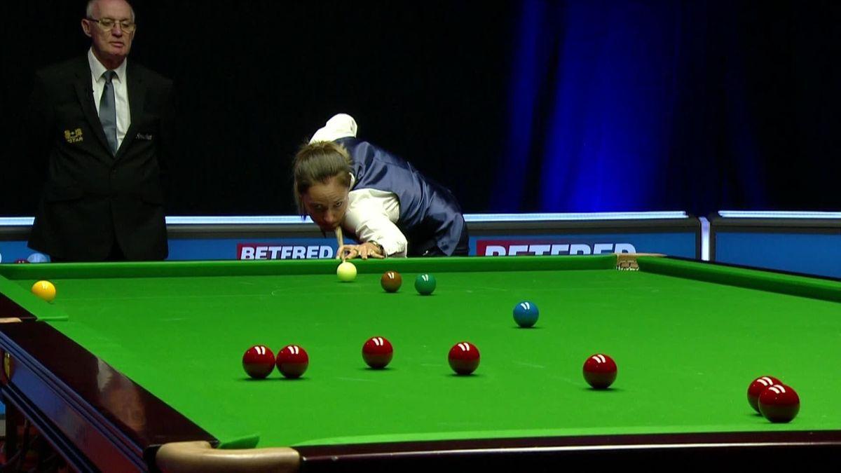 Reanne Evans sinks long red in World Championship qualifier
