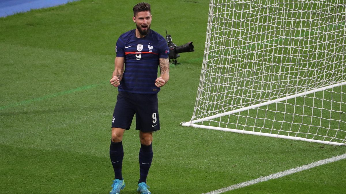Les Notes Des Bleus France Suede Increvable Giroud Intenable Thuram Eurosport
