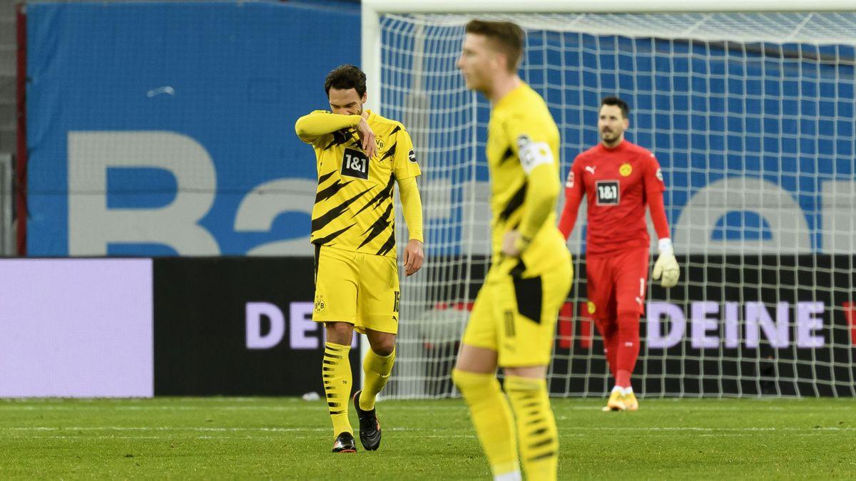 Marco Reus, Mats Hummels und Roman Bürki - Borussia Dortmund