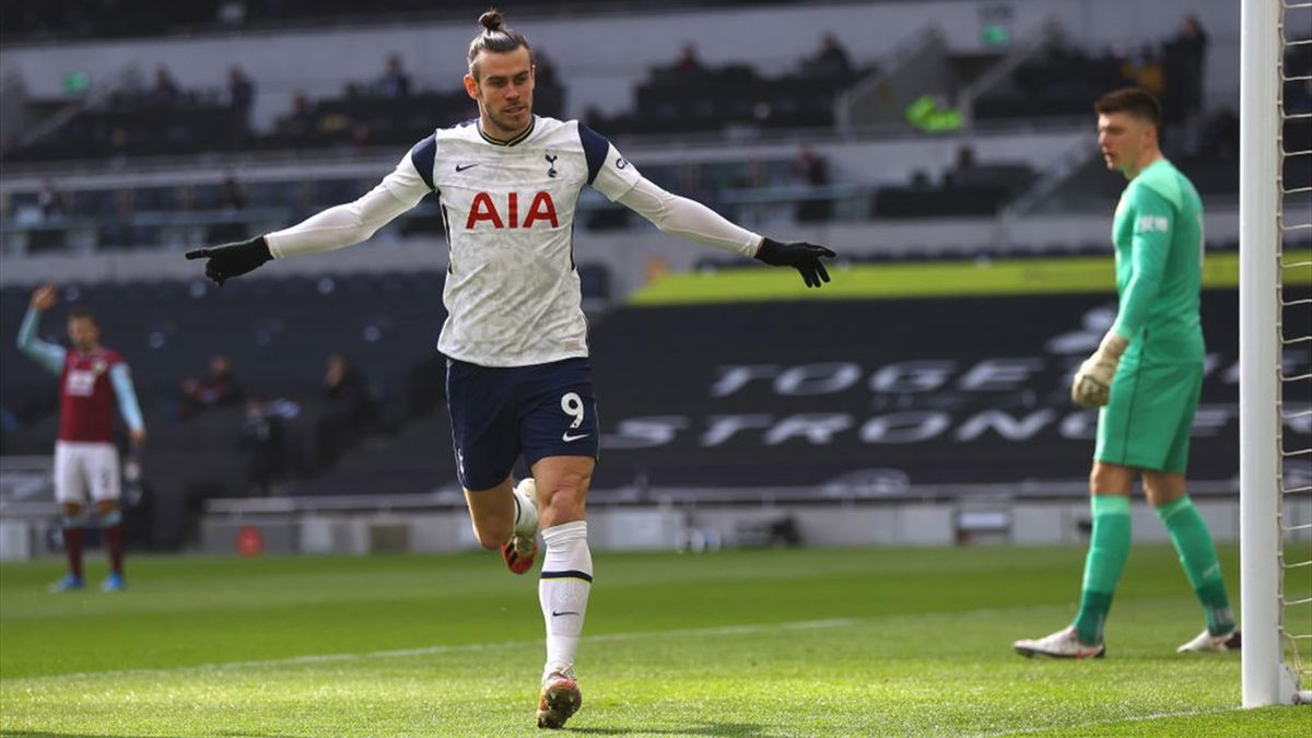 Gareth Bale - Tottenham-Burnley Premier League 2020-21