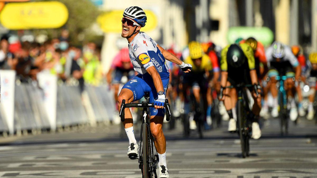 Tour de France 2020: Julian Alaphilippe gewinnt 2. Etappe
